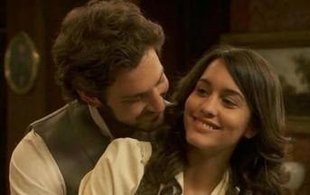 Anticipazioni Il segreto lunedì 23 settembre: Tristan e Pepa di nuovo amanti clandestini