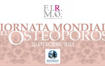Italia: 3,5 milioni di donne soffrono di osteoporosi
