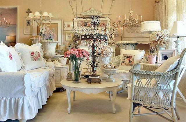 Spopola lo shabby chic stile romantico che esalta le cose - Casa stile romantico ...