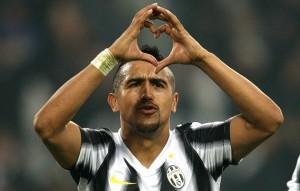 Vidal Gol JUventus Catania 30 ottobre