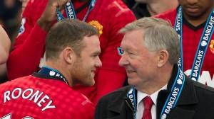 Wayne Rooney ed Alex Ferguson