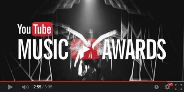 youtube music awards prima edizione il 3 novembre 2013 con eminem e arcadia fire urbanpost. Black Bedroom Furniture Sets. Home Design Ideas