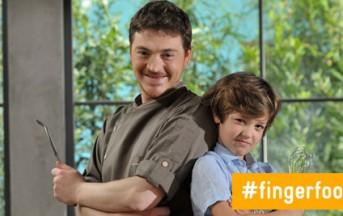 Finger Food Factory, la ricetta della millefoglie di melanzane e cacao