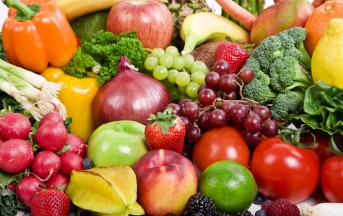 Dieta italiana: ancora poca frutta e verdura