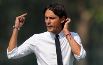 Milan: Inzaghi al posto di Allegri