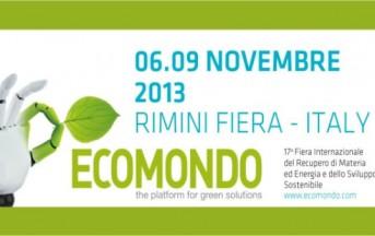 Ecomondo 2013, a Rimini la Fiera della Green Economy dal 6 al 9 novembre