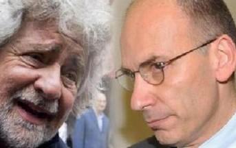 Letta contro Grillo, via social un botta e risposta al veleno