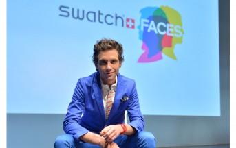 Mika diventa disegnatore di orologi per la Swatch