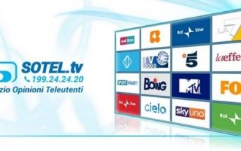 Arriva Sotel.tv: sarà il pubblico a votare i programmi tv