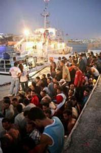 profughi imbarcati