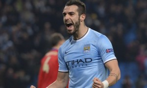 Manchester City's Álvaro Negredo scored a hat-trick in the 5-2 Champions League win over CSKA Moscow