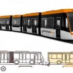 Autobus elettrico a ricarica wireless
