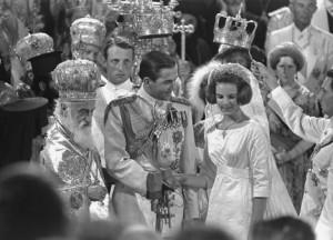 Costantino II di Grecia e Anna Maria di Danimarca 1964