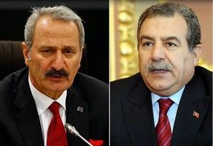 I ministri dimissionari Caglayan e Guler