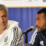 José Mourinho e Ashley Cole