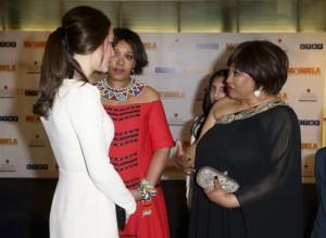 Kate e William incontrano la figlia di Mandela2