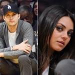 Ashton Kutcher e Mila Kunis a Los Angeles