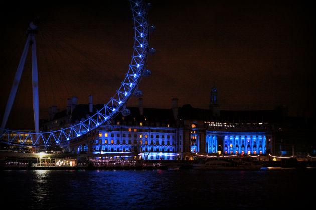 Londra Capodanno 2014
