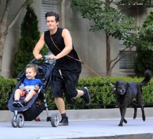 Orlando Bloom, Flynn e il cane2