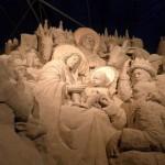 Presepe sabbia Natale 2013