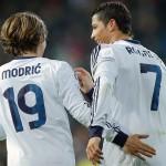 Real Madrid Luka Modric Cristiano Ronaldo Champions League