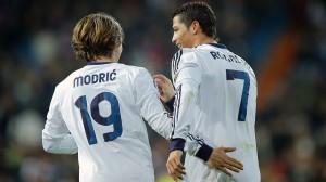 Real Madrid Cristiano Ronaldo e Luka Modric2