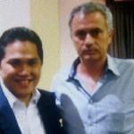 Erick Thohir e José Mourinho