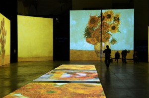 Van Gogh mostra multimediale
