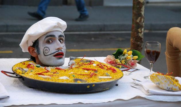 artista La Rambla Barcellona