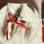 tavola Natale idee per apparecchiare