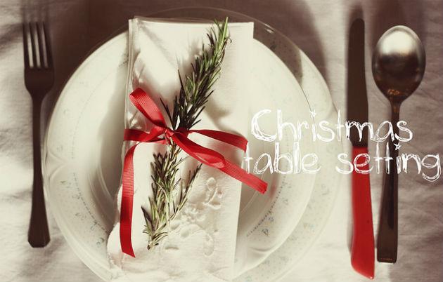 Natale 2013 idee last minute per apparecchiare la tavola - Idee tavola natale ...