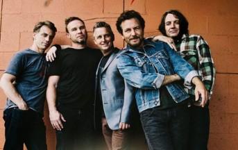 I Pearl Jam tornano con un nuovo singolo