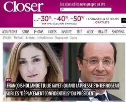 Closer love story Hollande