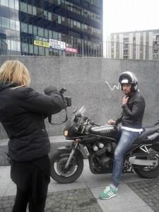 Costantino Vitagliano in moto