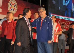 Fernando Lugo con Tata Martino2