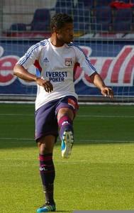 Michel Bastos Olympique Lyon2