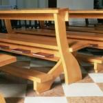 banchi di chiesa
