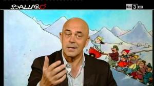 Crozza Copertina Ballarò 7 gennaio: Gasparri, Bastianich, l'augurio a Bersani, Fassina e Renzi (Video)