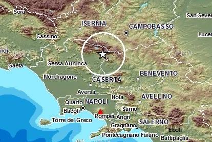terremoto 20 gennaio 2014 matese