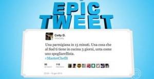 tweet Masterchef Italia