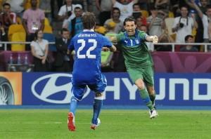 Alessandro Diamanti e Gianluigi Buffon2