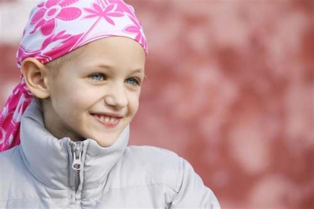 Bambina ammalata leucemia