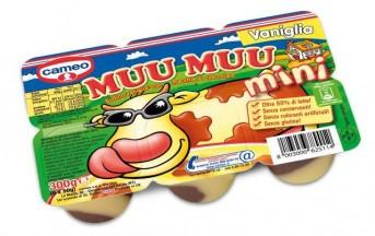 """Acqua ossigenata nel budino Cameo """"Muu Muu"""": ritirate dal commercio tutte le confezioni"""