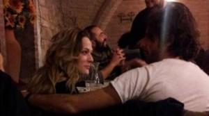 Laura chiatti e Marco Bocci al ristorante