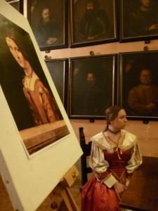 Fontanellato Festa della donna pinacoteca