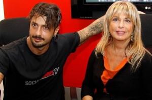 mamma Gabriella e Fabrizio Corona