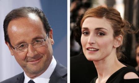 Hollande e Julie Gayet