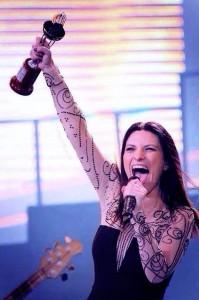 Laura Pausini esibizione Festival di Viña del Mar