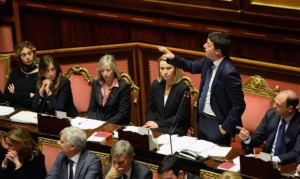 Matteo Renzi strasburgo