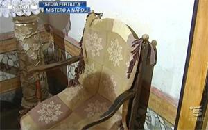 sedia miracolosa fertilità